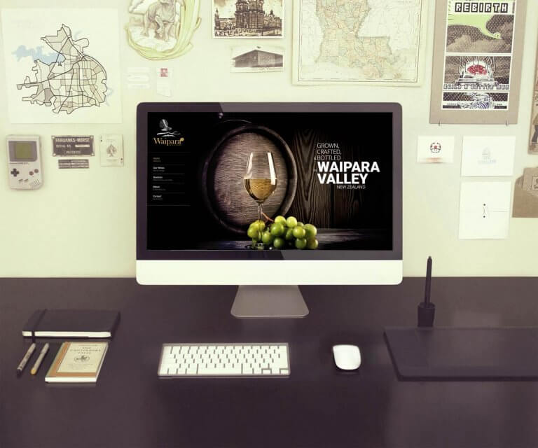 Waipara Valley Wines web design